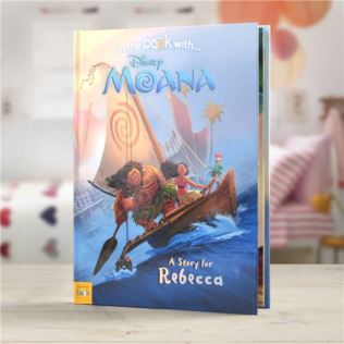 Personalised Disney Moana Book Product Image
