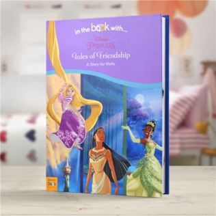 Disney Princess Tales of Friendship Personalised Book Product Image