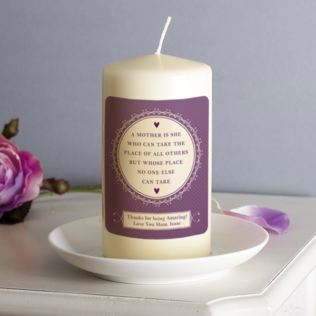 Personalised A Mother Is Candle Product Image