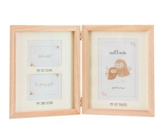 Woodland Baby Scan Multi Photo Frame Product Image