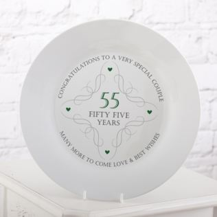 55th Anniversary Plate Product Image