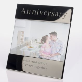 Engraved Anniversary Photo Frame Product Image