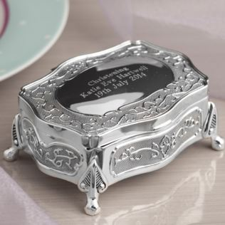 Antique Trinket Box With Feet Product Image