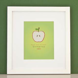 Personalised You Are The Apple Of My Eye Framed Print Product Image