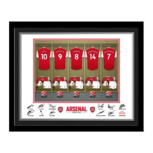 Personalised Football Dressing Room Framed Photo Product Image