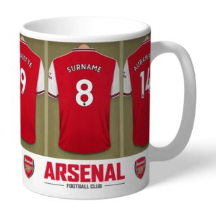 Personalised Arsenal Dressing Room Mug Product Image