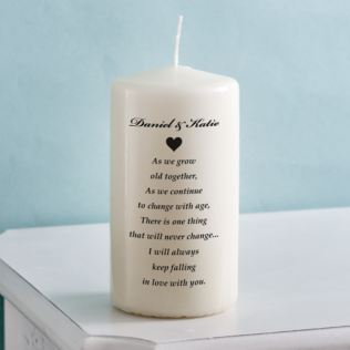 Unity Candle - As We Grow Old Together Product Image