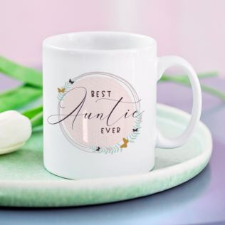 Personalised Best Auntie Ever Mug Product Image