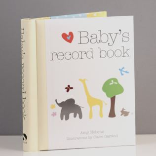 Baby's Record Book Product Image