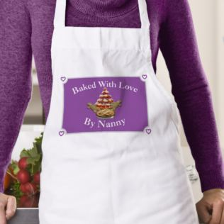Baked With Love Apron Product Image