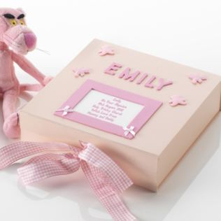Personalised Baptism Memory Box Product Image