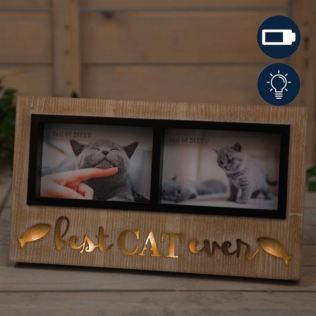 Best of Breed Cat Double Photo Frame Product Image