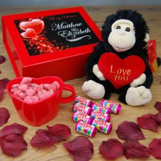Be My Valentine Personalised Gift Box Product Image