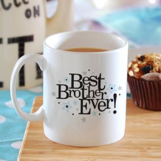 Best Brother Ever Personalised Mug Product Image