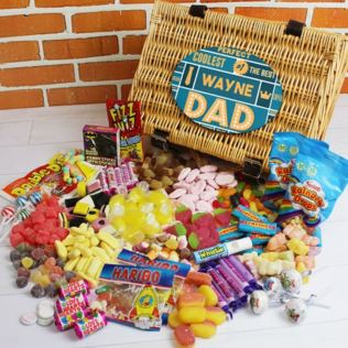 Personalised Best Dad - Retro Sweet Hamper Product Image