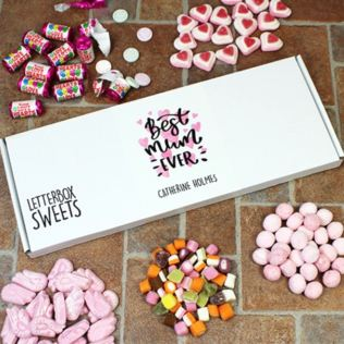 Personalised Best Mum Ever - Letterbox Sweets Product Image