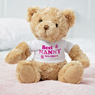 Personalised Best Grandma Teddy Bear Product Image