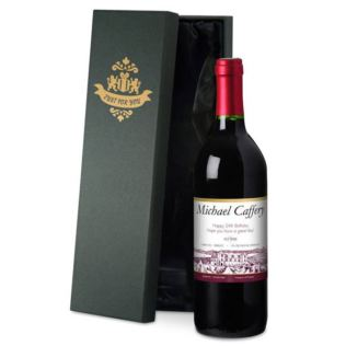 Personalised Red Wine Product Image