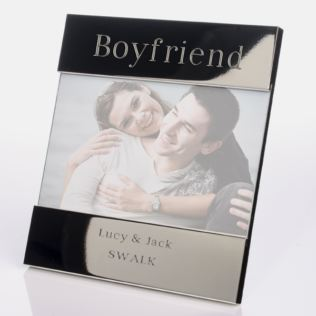 Engraved Boyfriend Photo Frame Product Image