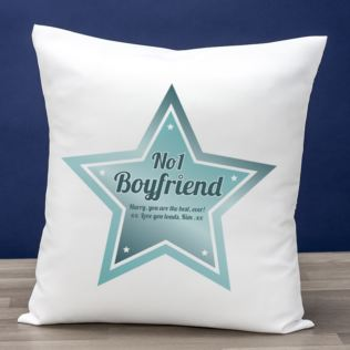 Best Boyfriend Personalised Cushion Product Image