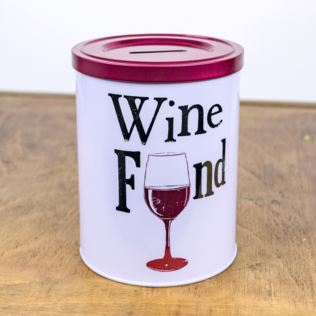 Wine Fund Tin Product Image