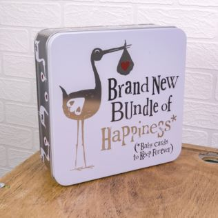 Brand New Bundle Of Happiness Keepsake Tin Product Image