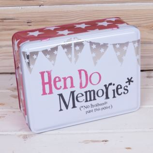 Hen Do Memories Tin Product Image