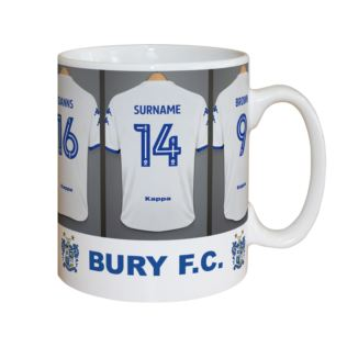 Personalised Bury FC Dressing Room Mug Product Image
