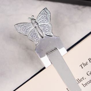 Butterfly Bookmark in Personalised Gift Box Product Image
