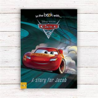 Disney Cars Personalised Adventure Story Book Product Image