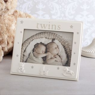 Bambino Twins Photo Frame Product Image