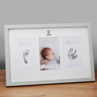 Bambino Hand & Foot Print Frame With Ink Pad Product Image