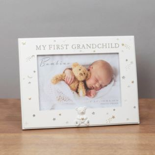 Bambino First Grandchild Photo Frame Product Image
