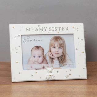 Bambino Me & My Sister Photo Frame Product Image
