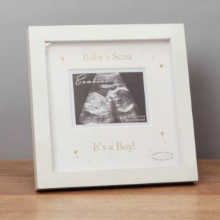 Bambino It's A Boy Scan Photo Frame Product Image