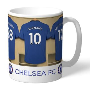 Personalised Chelsea Dressing Room Mug Product Image