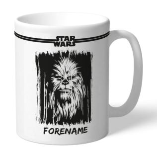 Personalised Star Wars Chewbacca Paint Mug Product Image