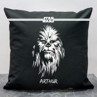 Personalised Star Wars Chewbacca Paint Cushion Product Image
