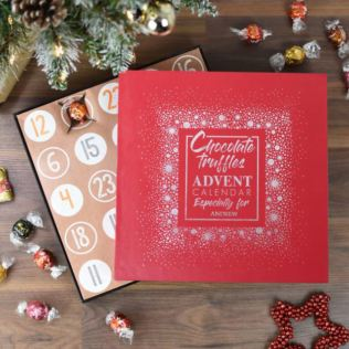 Personalised Truffles Advent Calendar Product Image