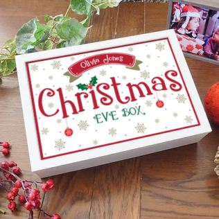 Personalised Snowy Christmas Eve Box Product Image