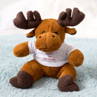 Personalised Christmas Reindeer Product Image