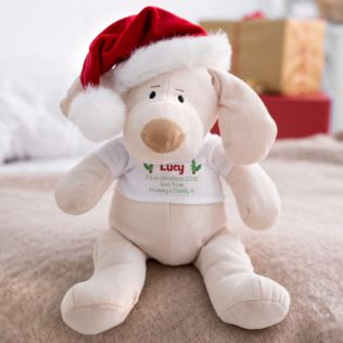 Personalised 1st Christmas Puppy Product Image