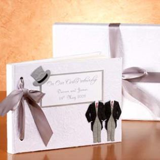 Personalised Civil Partnership Album Product Image