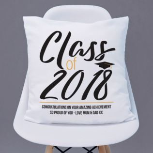 Personalised Class Of Graduation Cushion Product Image