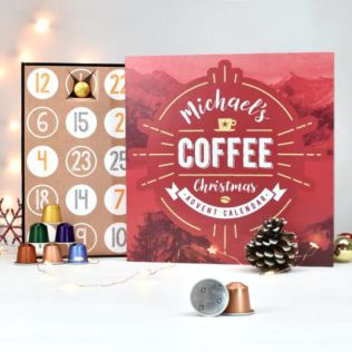 Personalised Coffee Advent Calendar Product Image
