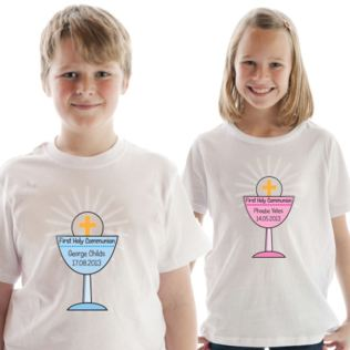 First Holy Communion Personalised T-Shirt Product Image
