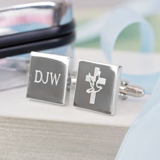 Personalised Confirmation Cufflinks Product Image