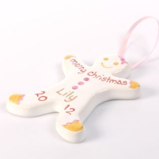 Gingerbread Girl Christmas Tree Decoration Product Image