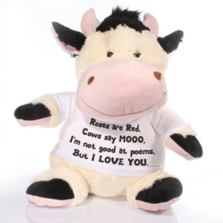 Extra Large Personalised Cow Soft Toy Product Image