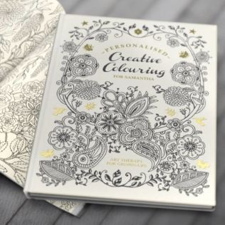 Personalised Adult's Colouring Book Product Image